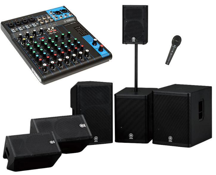 Sound Hire Professional Pa Packages In Dublin Ireland