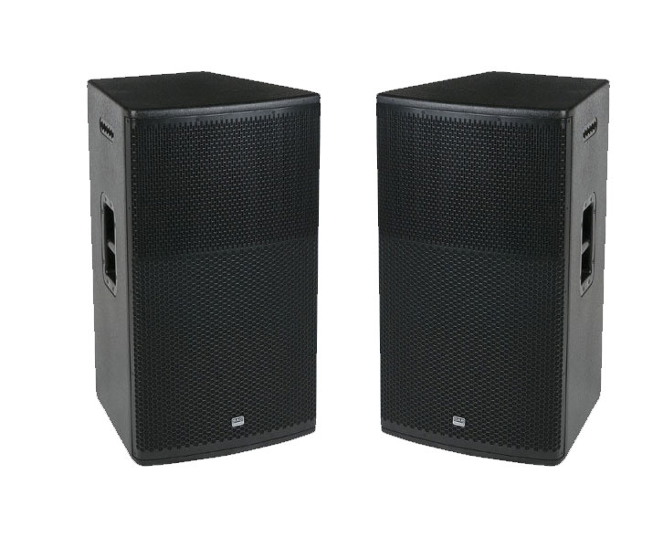 2 X 15″ DAP AUDIO LOUD SPEAKER: SPEAKERS 600 W