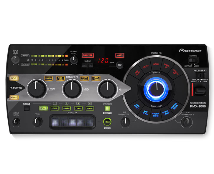 DJ Packages for hire, Pioneer RMX 1000 remix station for hire
