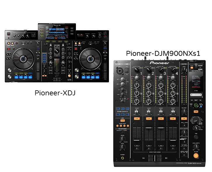 Professional DJ packages for hitre by sound-hire.ie, sound for hire in Dublin, Ireland, PAIR – PIONEER XDJ WITH PIONEER DJM900 NXS1.