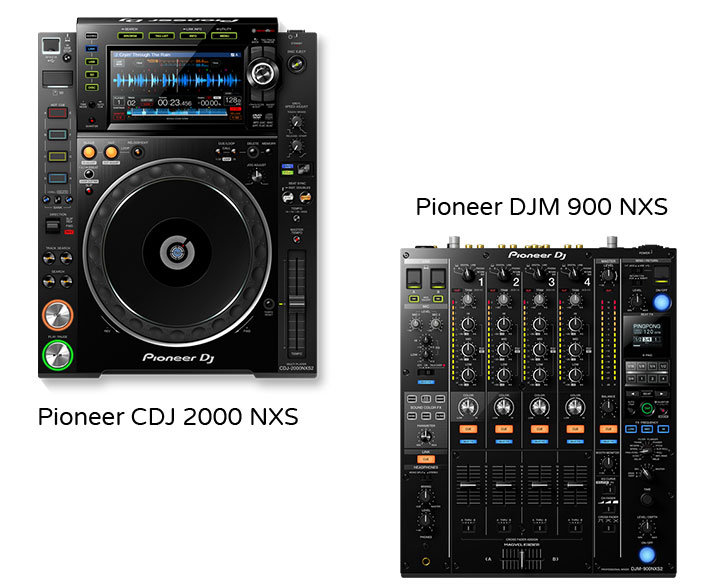 Pioneer CDJ2000 Nexus x2 – DJM900 Nexus x2