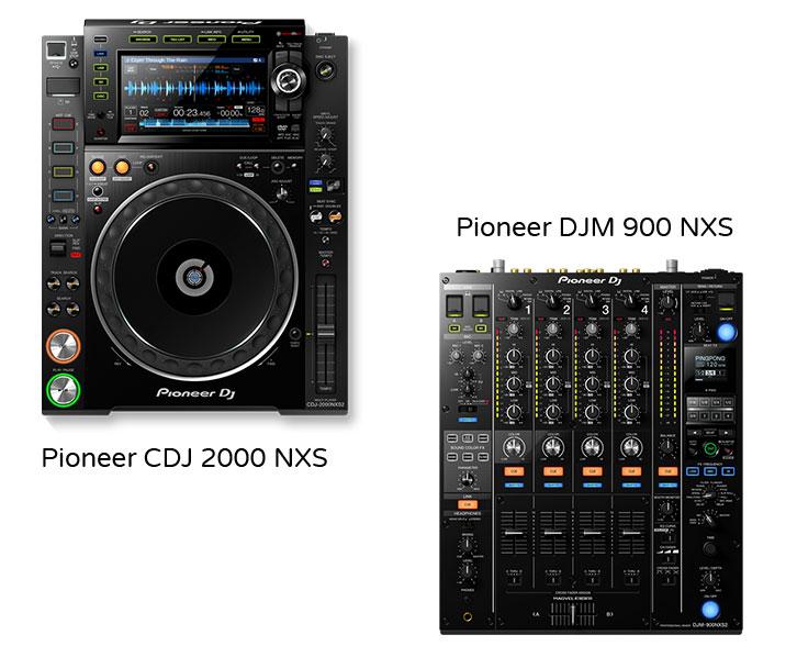 DJ Package 3 - Pioneer CDJ 2000 NXS x2 and Pioneer DJM 900 NXS x2