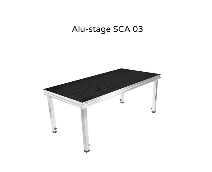 Alu-stage SCA 03 - staging for hire