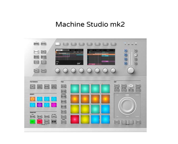 Machine Studio mk2 - Keybords and Midi Controllers for hire